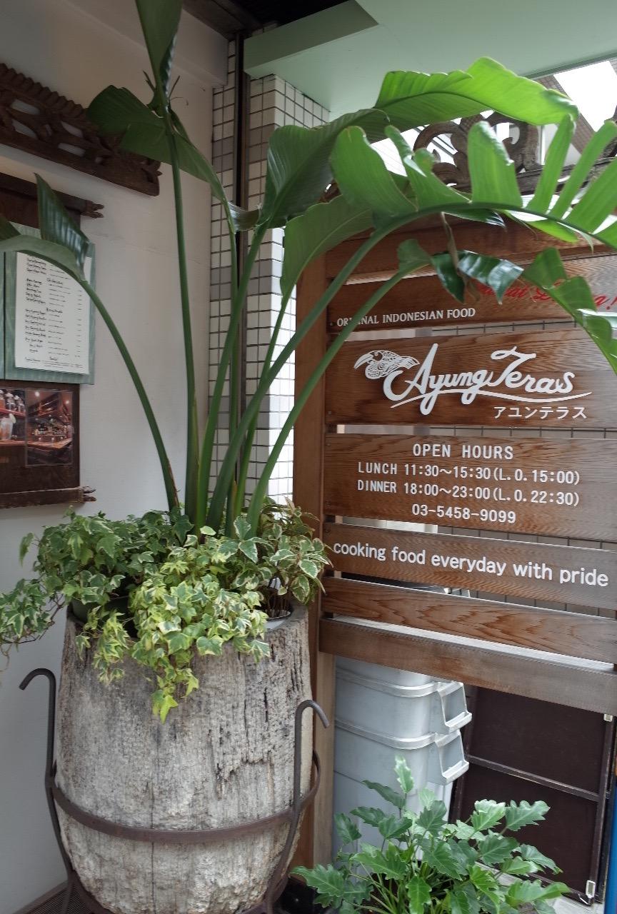 渋谷でナシゴレンランチ。インドネシア料理のアユンテラスさん。